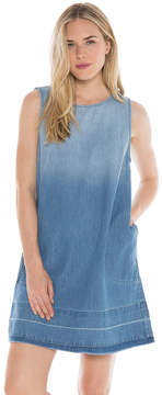Bella Dahl Released Hem A-Line Dress-Indio Wash-XS