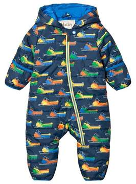 Hatley Navy Snowmobile Puffer Snowsuit
