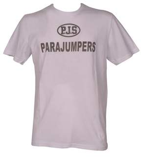 Parajumpers Men's White Cotton T-shirt.