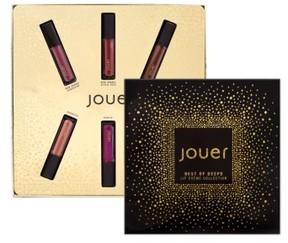 Jouer Best Of Deeps Mini Long-Wear Lip Creme Liquid Lipstick Collection - No Color