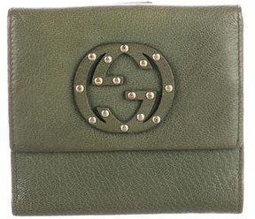 Gucci Blondie Compact Wallet - GREEN - STYLE