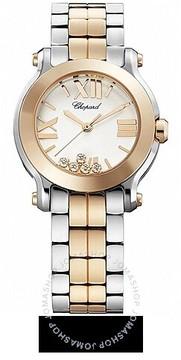 Chopard Happy Sport Two-tone Gold/Steel Mini Ladies Watch