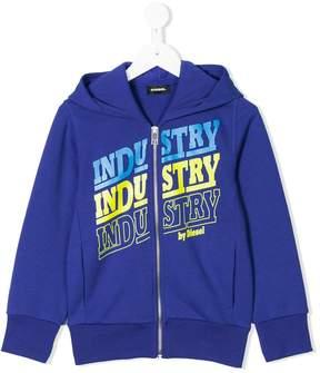 Diesel Salm zipped hoodie