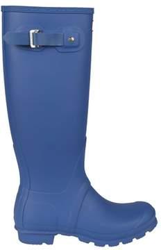 Hunter Women's Blue Rubber Boots.