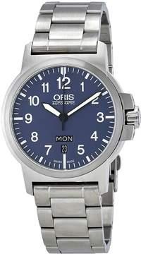 Oris BC3 Blue Dial Automatic Men's Watch