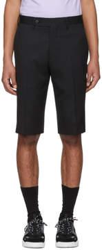 Sacai Black Wool Tailored Shorts