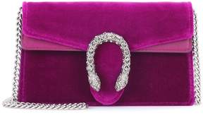 Gucci Dionysus velvet and leather clutch
