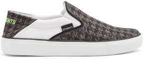 Vetements Houndstooth check-print canvas trainers