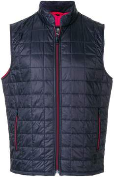 Fay square quilted gilet