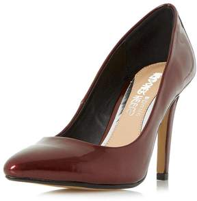 Head Over Heels *Head Over Heels by Dune Burgundy 'Alice' Court Shoes
