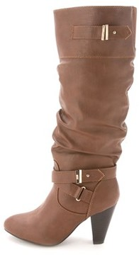 Rampage Women's Eliven Round Toe Knee High Boot.