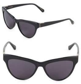 Zac Posen Farrow 55MM Butterfly Sunglasses