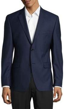 Lauren Ralph Lauren Wool Check Slim-Fit Blazer