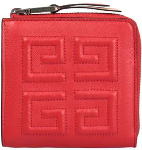 Givenchy Emblem Leather Coin Pouch