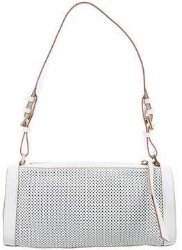 Gucci Perforated Mini Boston Bag - WHITE - STYLE