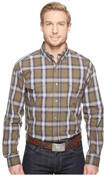 Roper 0554 Green River Plaid Button