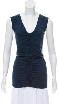 Strenesse Ruched Sleeveless Top