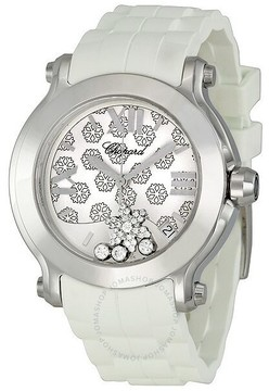 Chopard Happy Sport Snow Flake Dial Ladies Watch