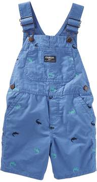 Osh Kosh Oshkosh Bgosh Baby Boy Embroidered Crocodile Shortalls