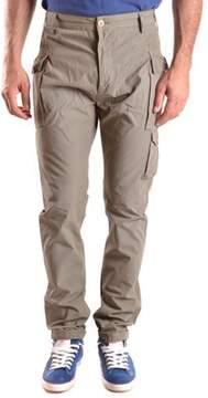 Daniele Alessandrini Men's Brown Cotton Pants.