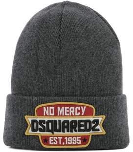 DSQUARED2 Men's Grey Wool Hat.