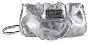 Marc by Marc Jacobs Metallic Texture Leather Pochette