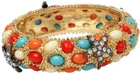 Amrita Singh Women's Pebble Hinged Bangle Bracelet