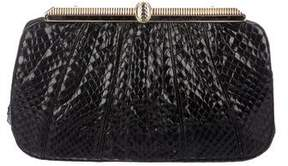 Judith Leiber Snakeskin Evening Bag