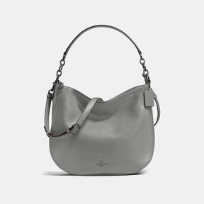 COACH Coach Chelsea Hobo 32 - DARK GUNMETAL/HEATHER GREY - STYLE