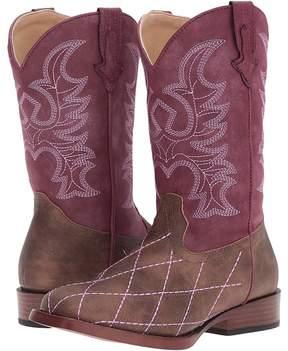 Roper Cross Cut Cowboy Boots