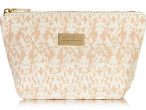 Aurelia Probiotic Skincare - Signature Printed Cotton-canvas Cosmetics Case - Peach