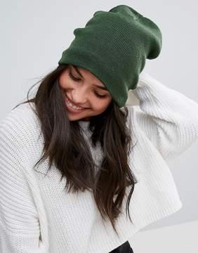 Plush Fleece Lined Barca Hat in Hunter Green