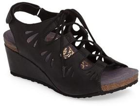 Aetrex Women's Giselle Slingback Wedge Sandal
