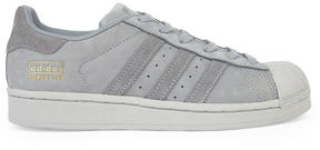 adidas Superstar suede leather sneakers
