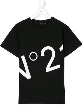 No.21 Kids printed T-shirt