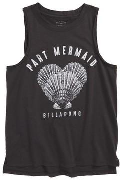 Billabong Girl's Part Mermaid Graphic Tank