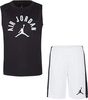 Jordan Little Boys 2-Pc. Air Print Tank & Shorts Set
