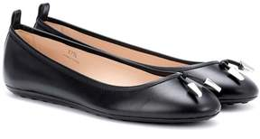 Tod's Leather ballerinas