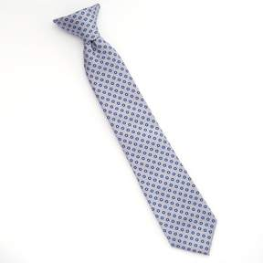 Chaps Boys Circle Dotted Clip-On Tie