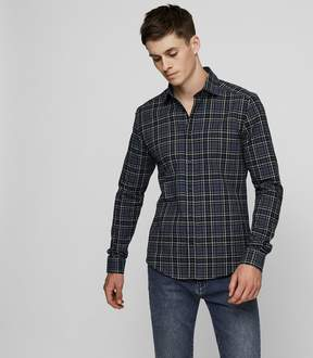 Reiss Tristan Brushed Flannel Shirt