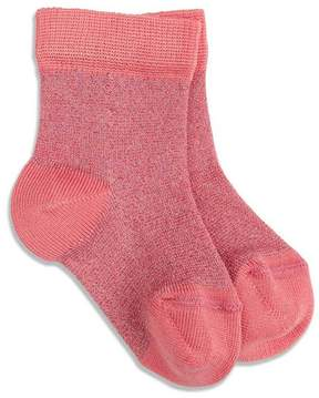 Marie Chantal Baby Girl Baby Sparkle Sock - Coral