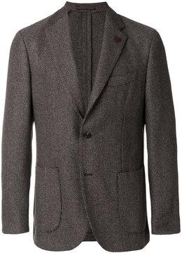Lardini patch pockets blazer