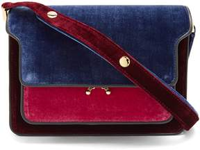 Marni Trunk medium velvet shoulder bag