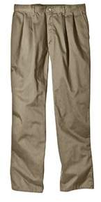 Dickies Men's Relaxed Fit Cotton Pleated Front Pant 32 Inseam.