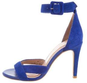 Joie Suede Ankle Strap Sandals
