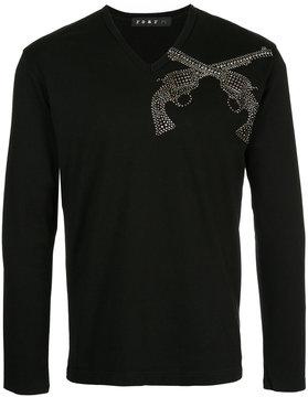 Roar v-neck T-shirt