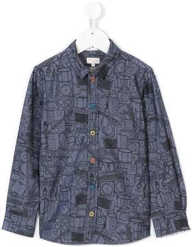 Paul Smith instrument print shirt