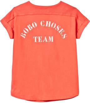 Bobo Choses Red Clay Team B.C Baseball Tunic Dress