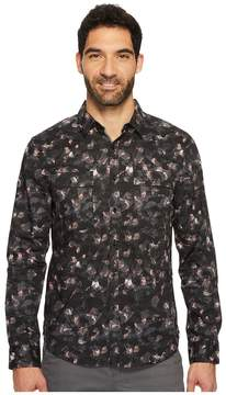 Kenneth Cole Sportswear Camo Print Shirt Men's Clothing