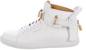 Buscemi 90MM Leather Sneakers